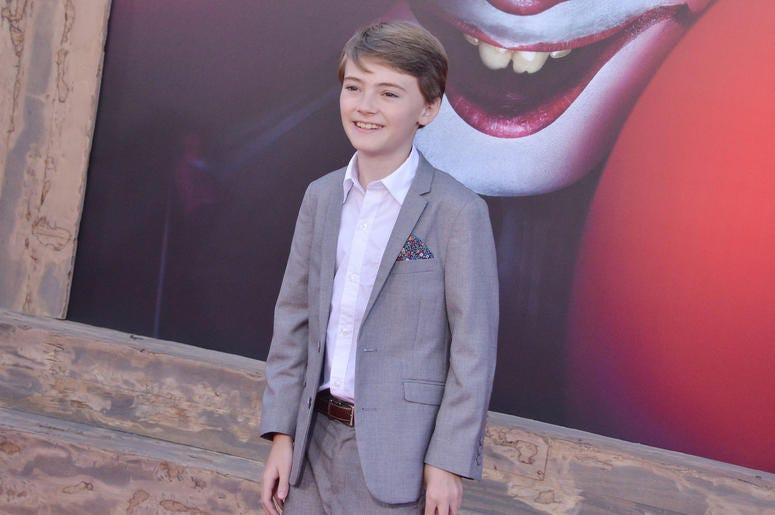 Jackson Robert Scott arrives at the Warner Bros. Pictures' IT CHAPTER TWO Premiere held at the Regency Village Theatre in Westwood, CA on Monday, August 26, 2019.