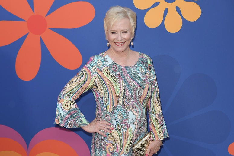 Eve Plumb arrives at HGTV's A VERY BRADY RENOVATION Los Angeles Premiere held at The Garland Hotel in North Hollywood, CA on Thursday, September 5, 2019
