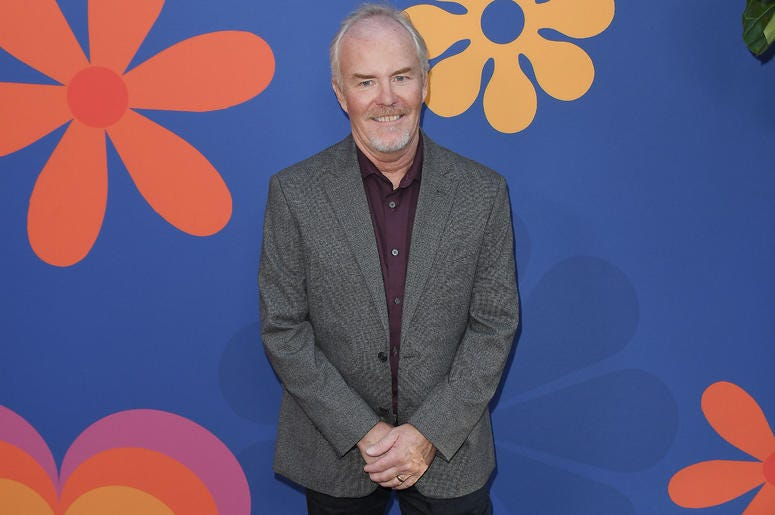 Mike Lookinland arrives at HGTV's A VERY BRADY RENOVATION Los Angeles Premiere held at The Garland Hotel in North Hollywood, CA on Thursday, September 5, 2019.