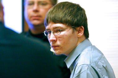 Brendan Dassey appears in court at the Manitowoc County Courthouse in Manitowoc, Wis.