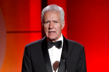 Alex Trebek speaks at the 44th annual Daytime Emmy Awards
