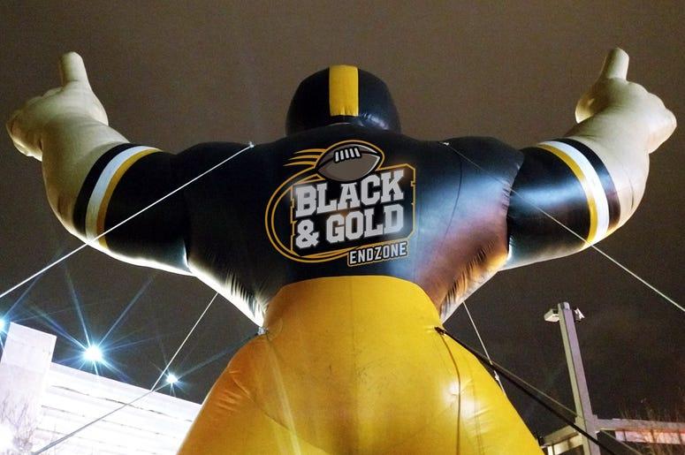 Black & Gold Endzone