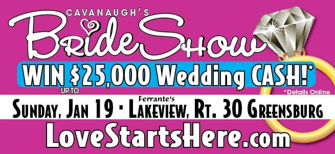 Cavanaugh's Bride Show in Greensburg