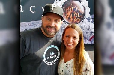 Garth Brooks and Kristen