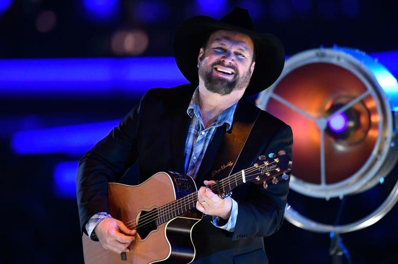 Garth Brooks performs onstage
