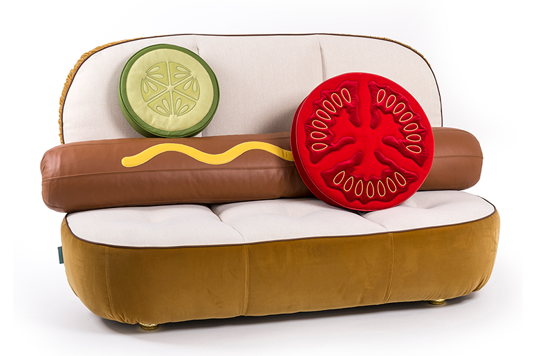 Hot Dog Couch