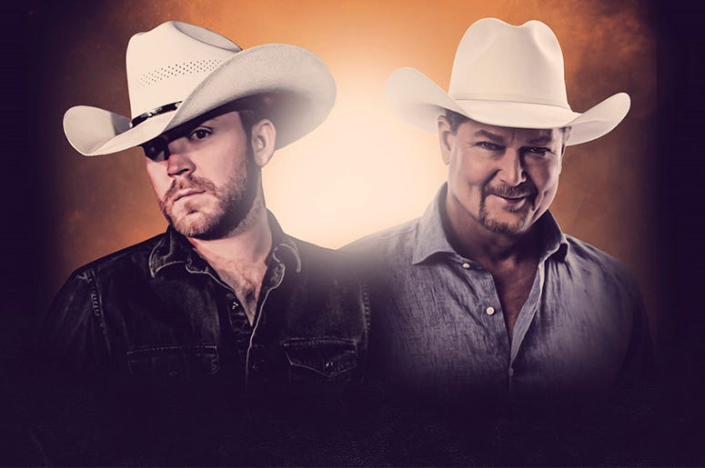 Justin Moore and Tracy Lawrence