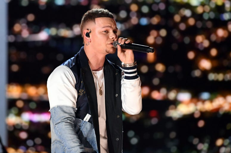 Kane Brown performs onstage during the 54th Academy Of Country Music Awards