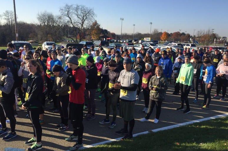 Runners on your mark OTA 5k