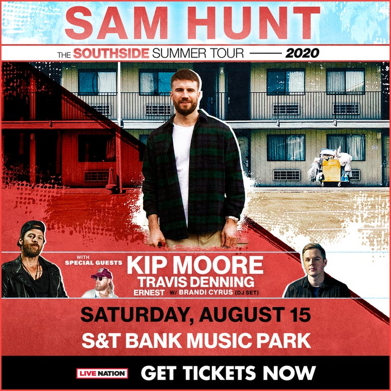 Sam Hunt Pittsburgh Concert