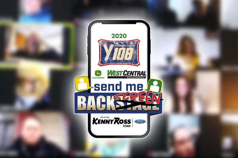 Y108 Send Me Backstage is Now Send Me Backscreen
