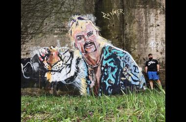 Tiger King Painting