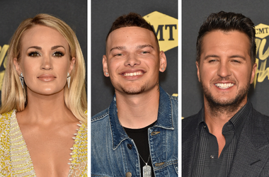 Carrie Underwood, Kane Brown, Luke Bryan