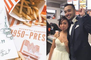 Why Newlyweds Had Impromptu Wedding Ceremony at Whataburger