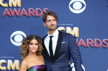 Maren Morris, Ryan Hurd at the 53rd Academy of Country Music Awards