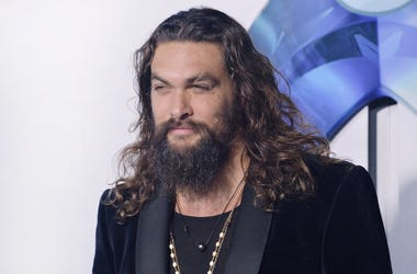 "Jason Momoa arrives at the Warner Bros Pictures' ""Aquaman"""