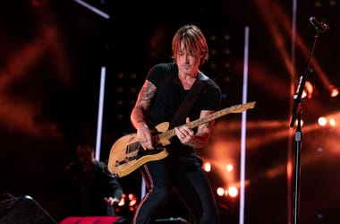 Keith Urban performs on stage
