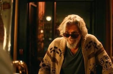 Stella Artois shows a scene from the company's Super Bowl spot with Jeff Bridges