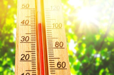 High Temperature Heat Wave