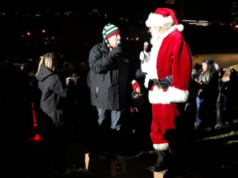 Santa at Santa Spectacular