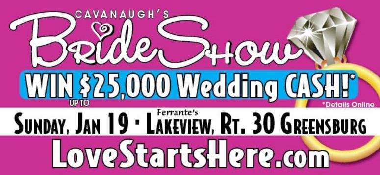 Cavanaugh's Bride Show in Greensburg