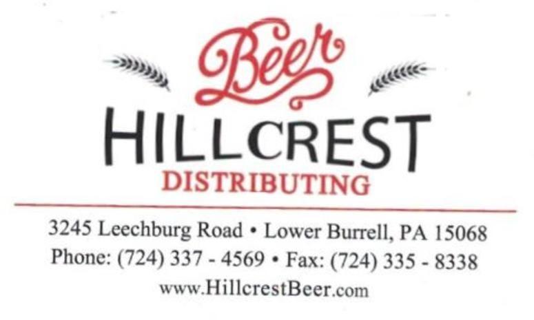 Hillcrest Beer Distributing