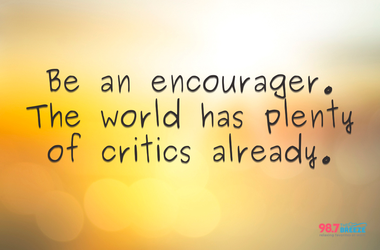 Quote about encouragement