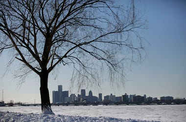 Detroit Michigan Winter