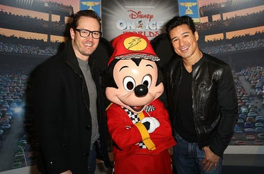 Actor Mark-Paul Gosselaar and Actor Mario Lopez