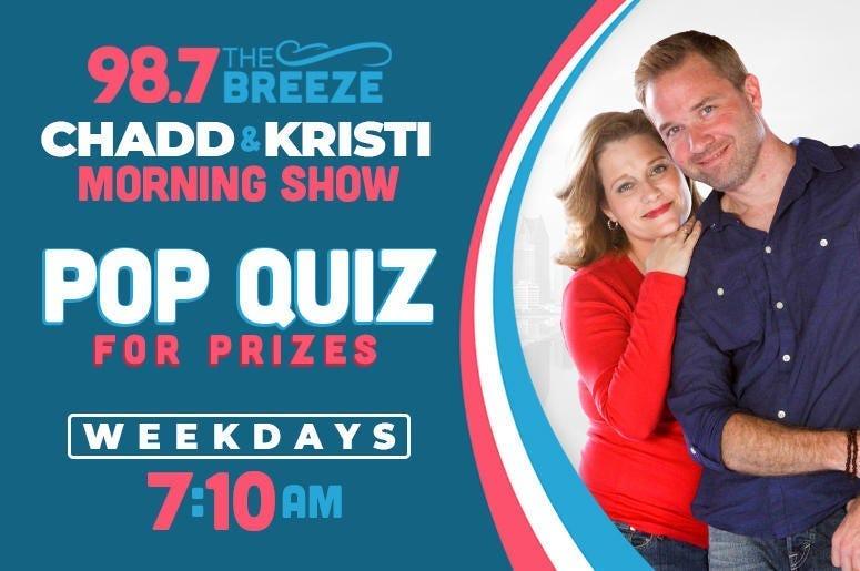Chadd and Kristi Pop Quiz