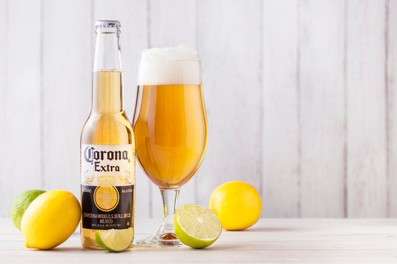 corona refresca coconut lime pack