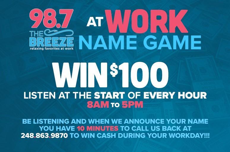 98 7 The Breeze | WDZH-FM Detroit