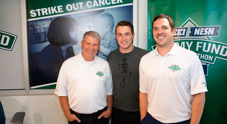 Matt Grzelcyk with Dale and Keefe