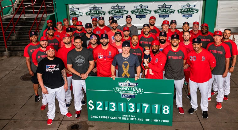Red Sox team photo