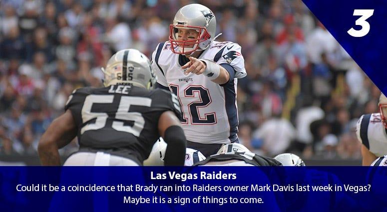 Tom Brady vs. the Raiders