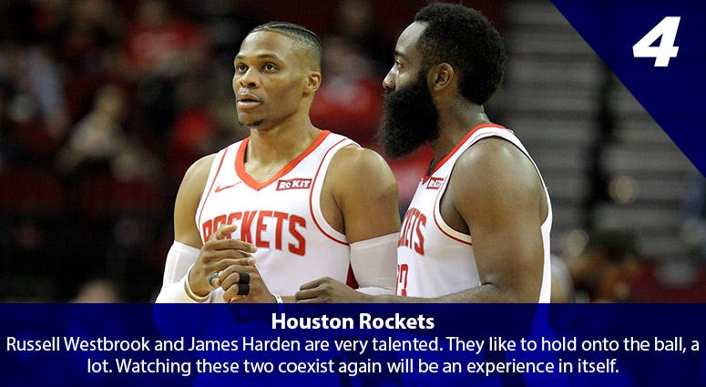Russell Westbrook, James Harden