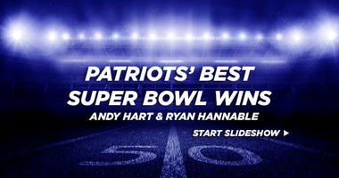 Patriots' best Super Bowl wins