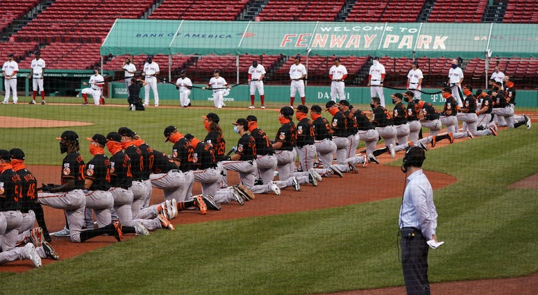 Red Sox-Orioles Opening Day at Fenway Park