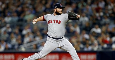 Boston Red Sox pitcher Ryan Brasier
