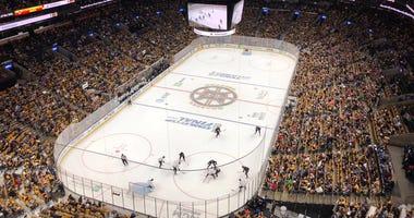 Boston Bruins pre-Stanley Cup scrimmage