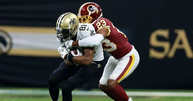 Former Saints wide receiver Cameron Meredith