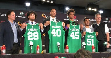 Carsen Edwards, Grant Williams, Romeo Langford, Tremont Waters