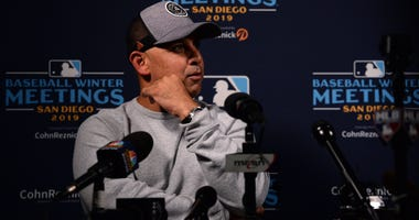 Alex Cora at Baseball Winter Meetings