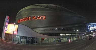 Rogers Place, home of the Edmonton Oilers