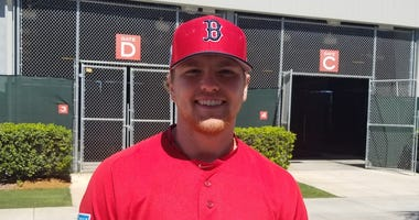 Red Sox reliever Durbin Feltman