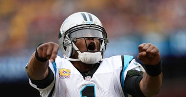 Cam Newton playing carolina