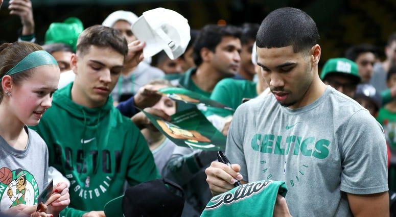 Celtics wing Jayson Tatum