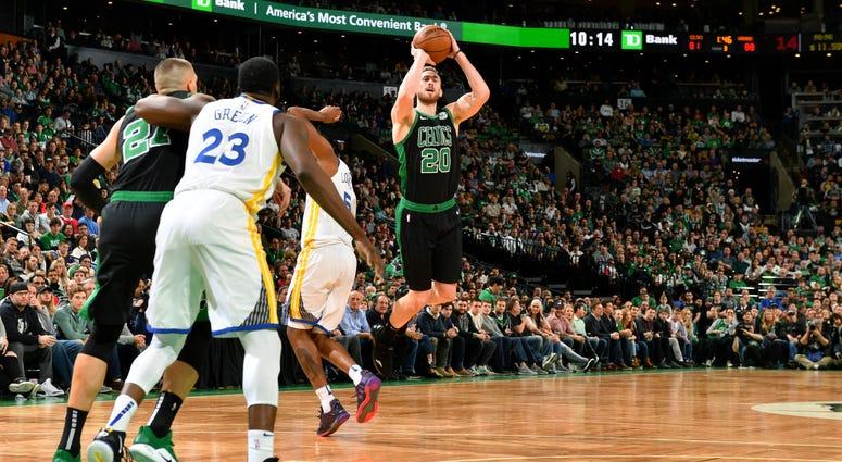 Celtics wing Gordon Hayward