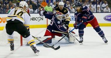 Chris Wagner Joakim Nordstrom Boston Bruins
