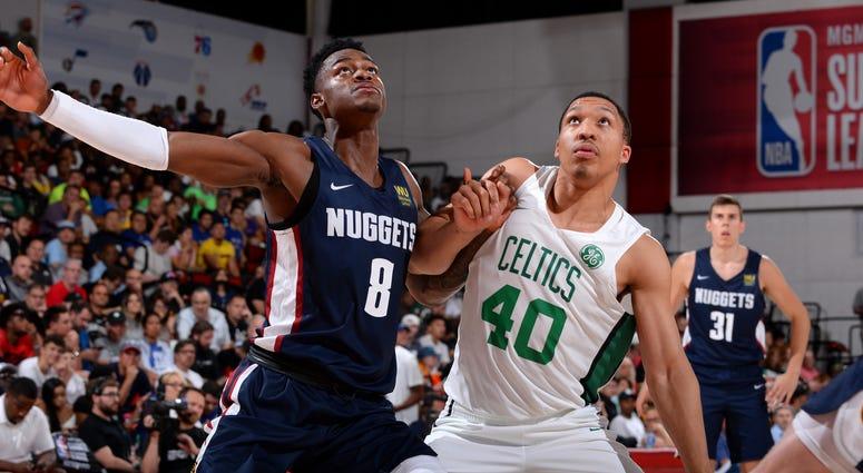 Celtics forward Grant Williams